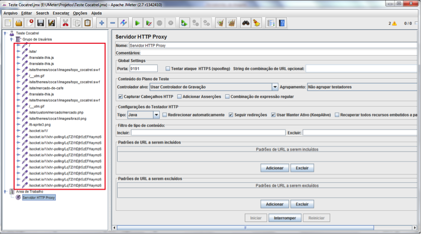 Tutorial JMeter  Uso do JMeter para Testes de Desempenho na Web