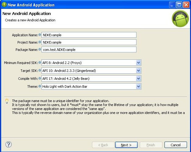 Developing Android Native Applications using NDK+JNI (Part 2